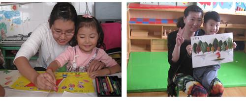 德州市妇女儿童活动中心幼儿园开展亲子手工活动